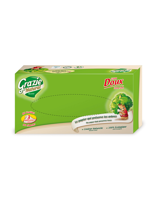 Facial Tissue in Box (3-ply)